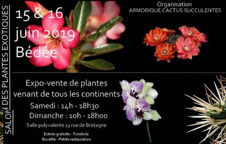 Salon des plantes exotiques à Bédée (Ille et Vilaine) organisée par ACS