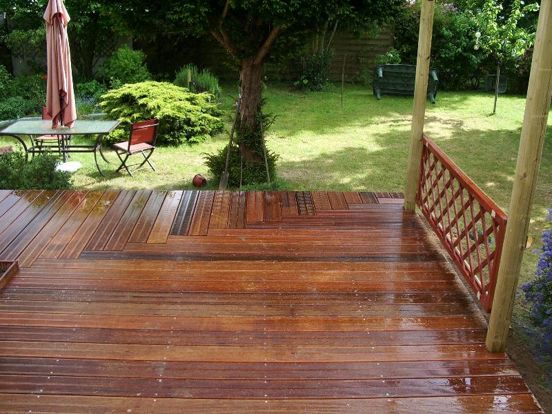 terrasse bois en bretagne diverses id es de conception de patio en bois pour. Black Bedroom Furniture Sets. Home Design Ideas