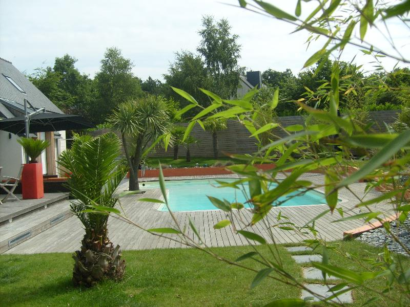 Cr Ation De Jardin Am Nagement Paysager Cesson S Vign Artisan Paysagiste Rennes Bretagne