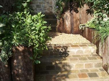 Escalier en pierre - Rennes