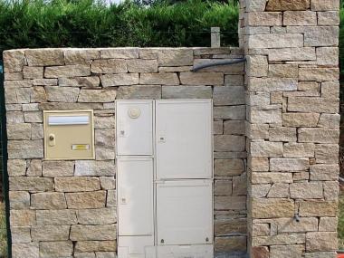 Pilier pierre séche - Chavagne