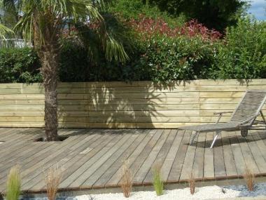 Terrasse en bois - Vignoc