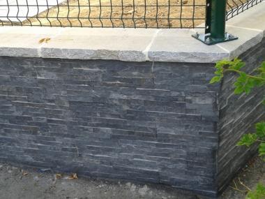 Muret en pierre - Chavagne