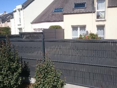 Clôture grillagée & composite - Rennes