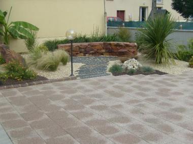 Jardin minéral - Romillé