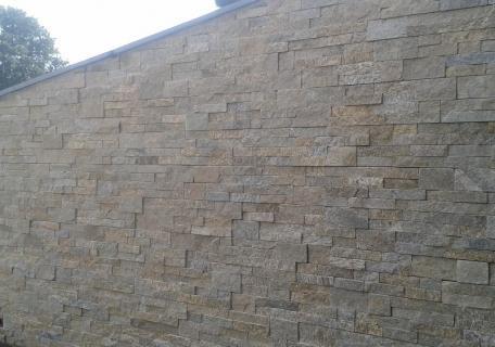 Revêtement mur de soutènement - Orgères