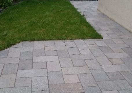 Terrasse en Grès cérame - Chavagne