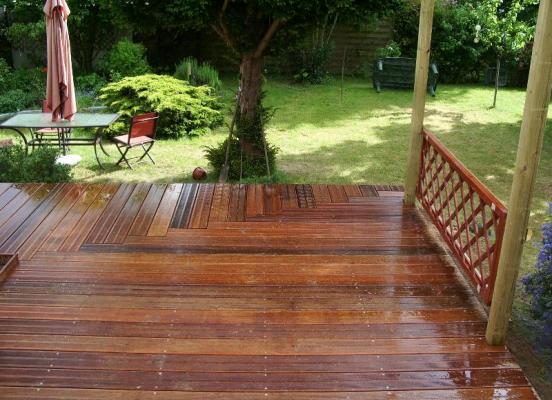 Terrasse en bois - Le Rheu