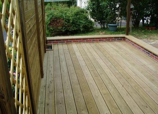 Terrasse en bois - Chevaigné