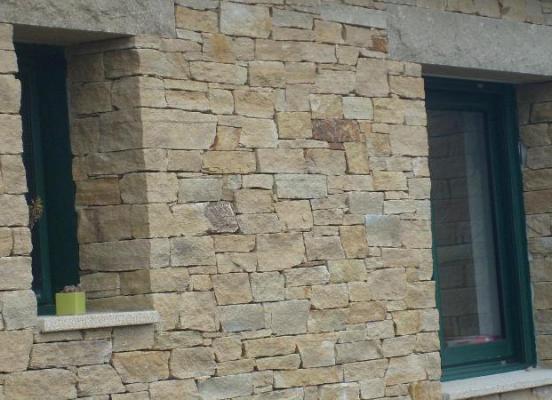 Mur en pierre séche - Eréac