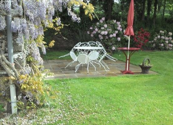 Création terrasse  Miniac sous Bécherel