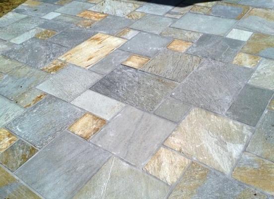 Création terrasse en pierre - Rennes