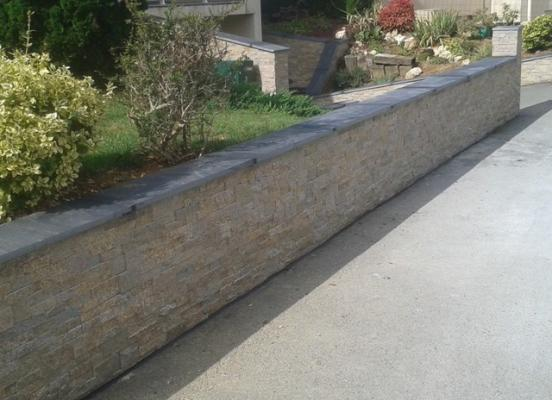 Muret de clôture -Orgères