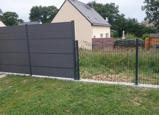Clôture en composite  - Rennes