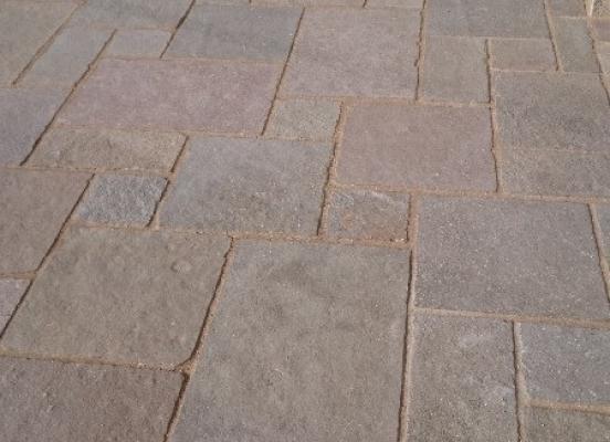 Terrasse en pierre - Rennes