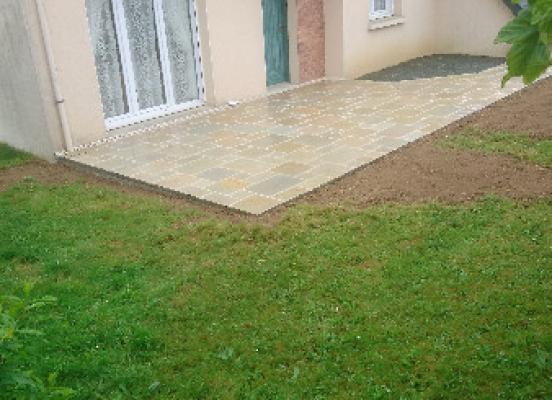 Création terrasse Chevaigné - Rennes