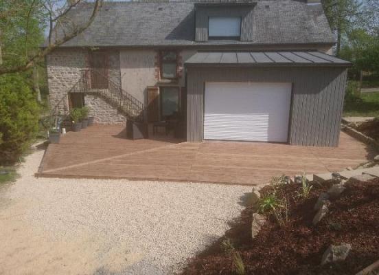Création terrasse bois - Ercé-près-Liffré