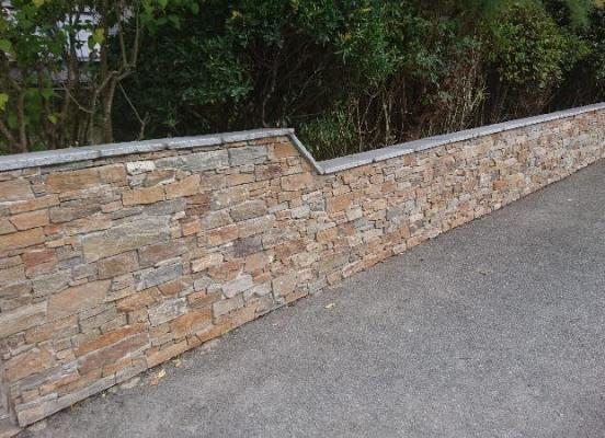 Murets en  pierres naturelles - Pacé